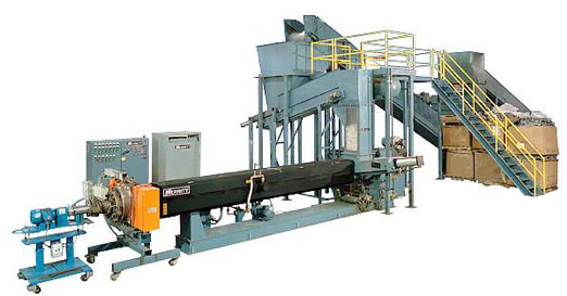 Davis-Standard Extruder: Plastic Recycling Machinery